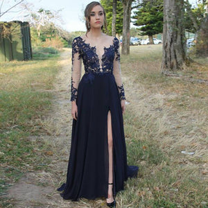 Sexy Prom Dress Long  Party Evening Dress