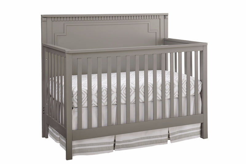 Emery Convertible Panel Crib - Grey