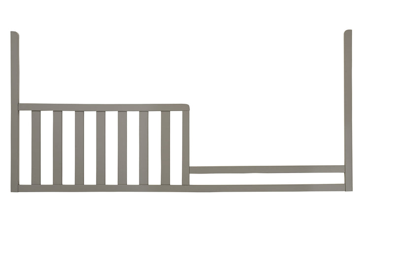 Emery Toddler Guard Rail for Panel Crib - Grey