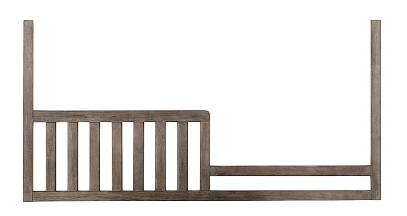 Foundry Toddler Rail - Brushed Pewter