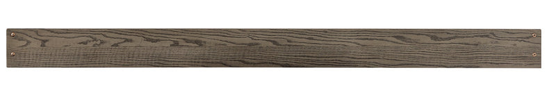 Foundry Full Bed Rails - Brushed Pewter