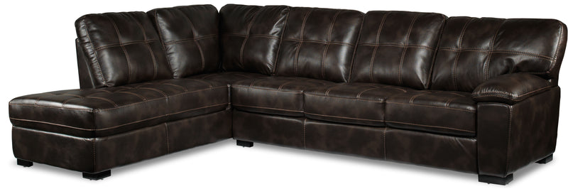 Nacino 2-Piece Sectional with Left-Facing Chaise - Coffee