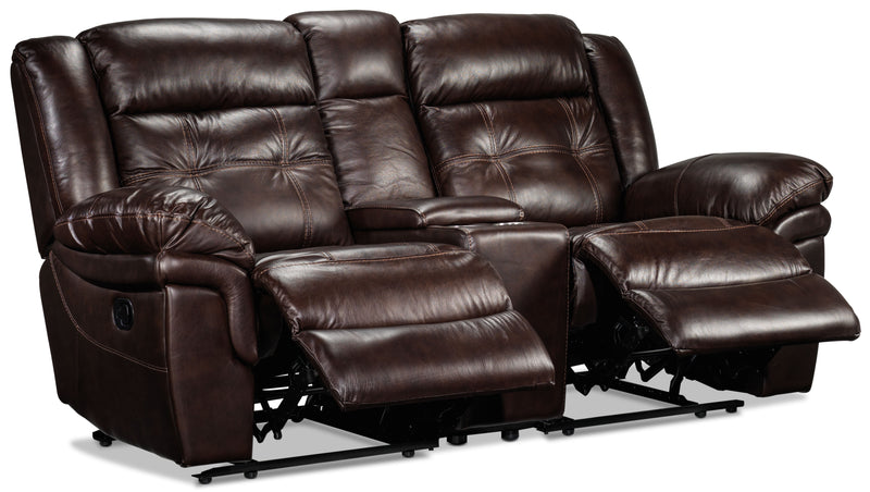 Genuine Leather Loveseats
