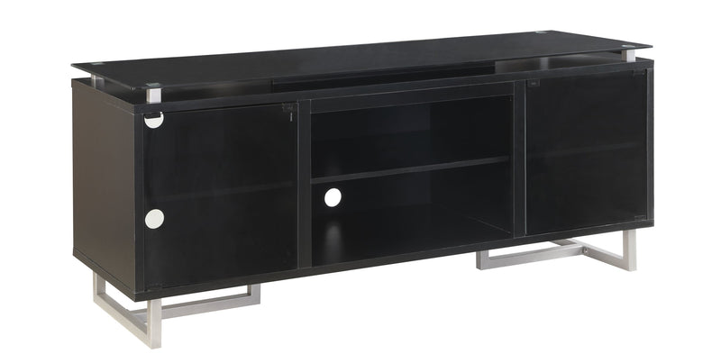 Onyx Flat Panel Television Stand - Black