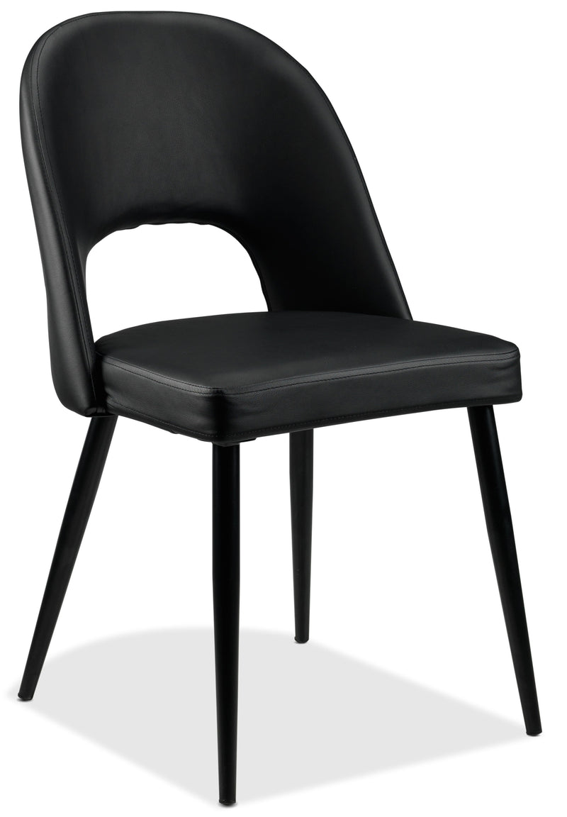 Oscar Side Chair - Matte Black