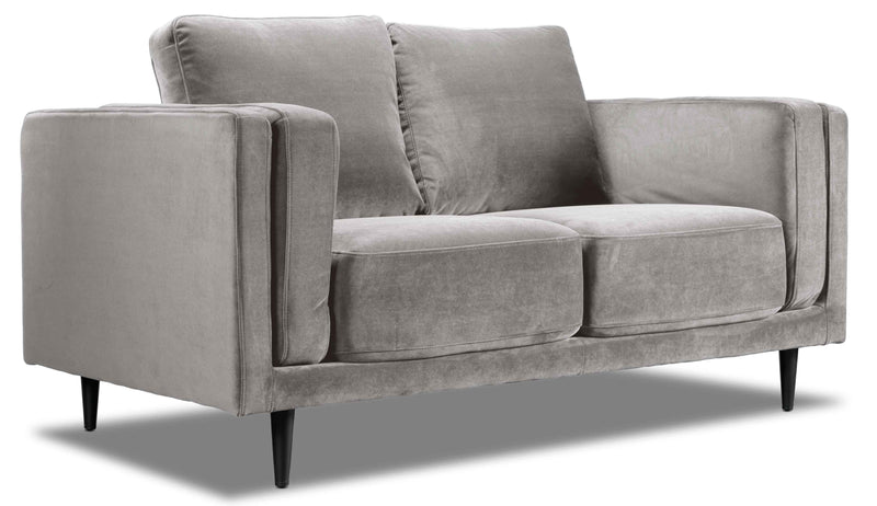 Lara Loveseat - Grey