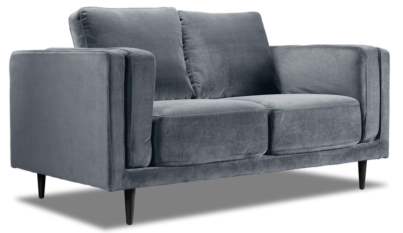 Lara Loveseat - Charcoal