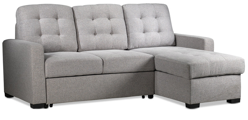 Dannery Pop-Up Sofabed - Light Grey