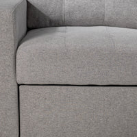 Dannery Pop-Up Sofa Bed - Light Grey