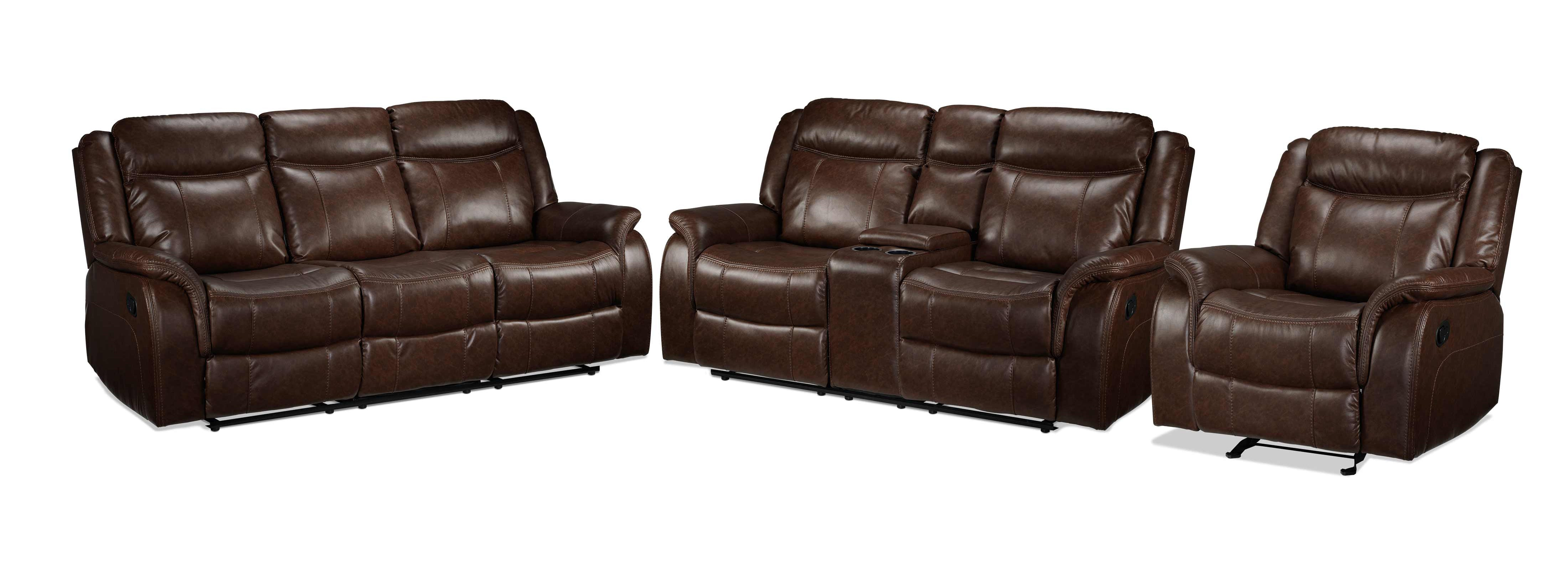 Scorpio Reclining Sofa Reclining Loveseat And Glider Recliner