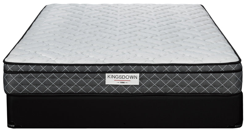 Kingsdown Adair Firm King Mattress and Split Boxspring Set