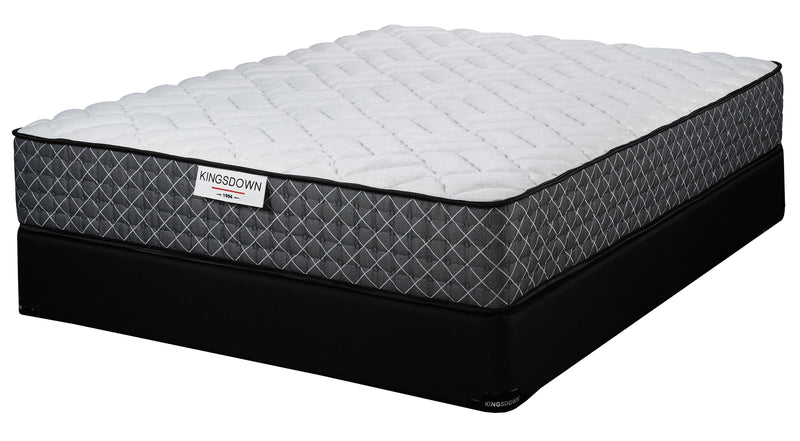 Kingsdown Bathgate Firm King Mattress and Split Boxspring Set