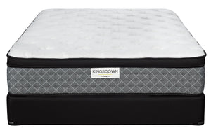 Kingsdown Dionne Plush Queen Mattress and Boxspring Set