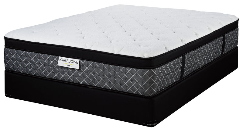 Kingsdown Gallery Plush Queen Mattress and Boxspring Set