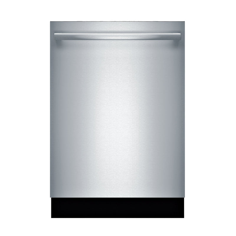 "Bosch 100 Series Fingerprint Resistant Stainless Steel 24"" Dishwasher - SHXM4AY55N"