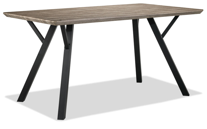 Chuck Dining Table - Woodgrain