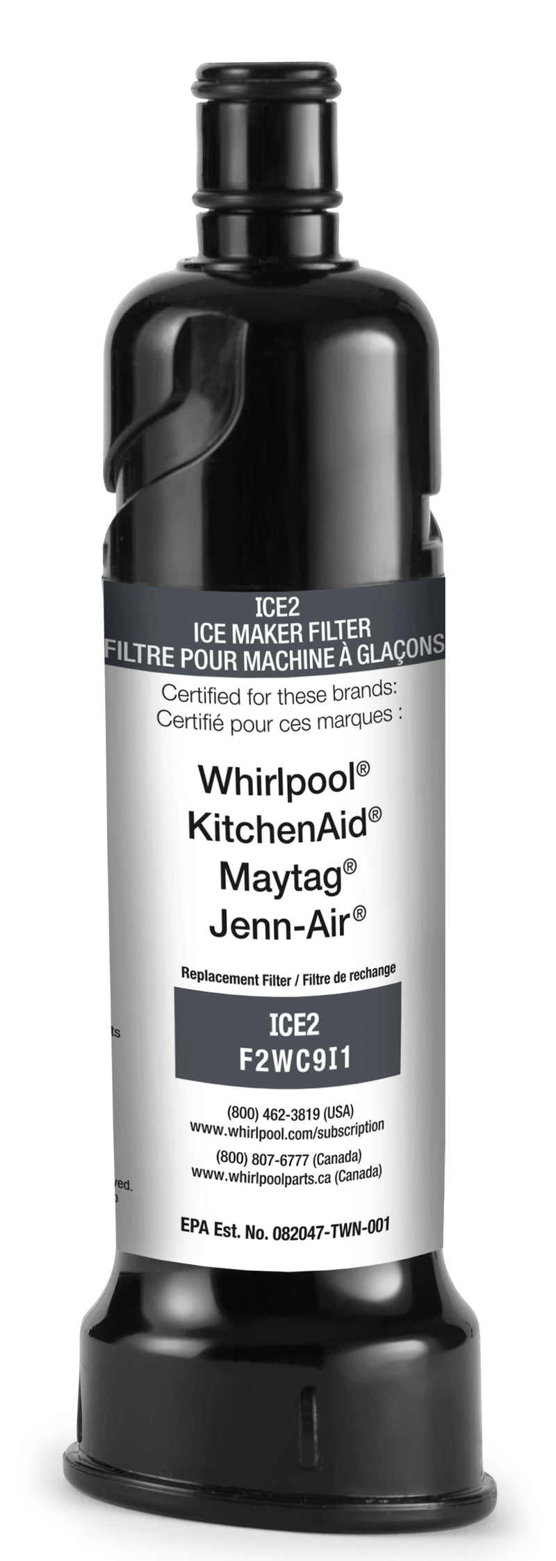 Whirlpool Ice Maker Water Filter - F2WC9I1