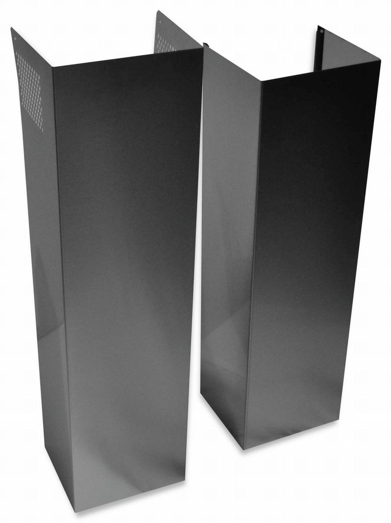 Unbranded Stainless Steel Wall Hood Chimney Extension Kit (12') - EXTKIT18FS