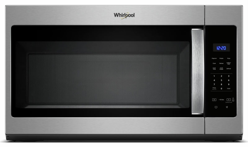 Whirlpool Stainless Steel Over-the-Range Microwave and Hood Combination (1.7 Cu.Ft.) - YWMH3017HS