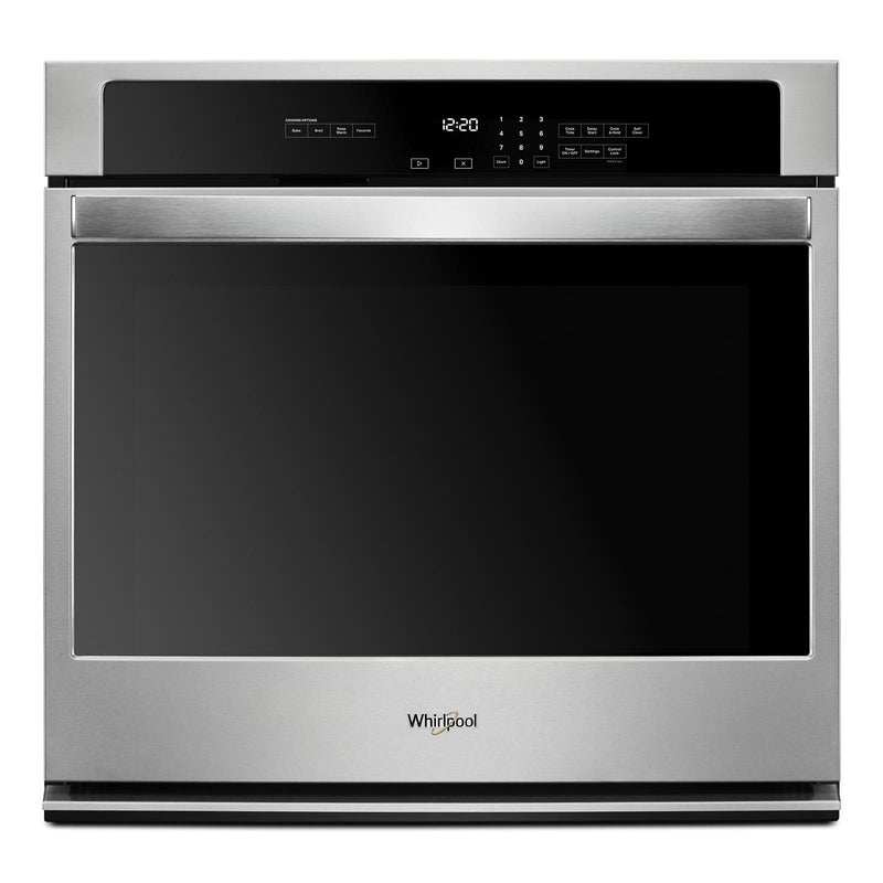 Whirlpool Stainless Steel Electric Single Wall Oven (5.0 Cu. Ft.) - WOS31ES0JS