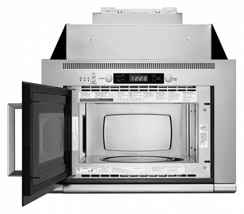 Unbranded Stainless Steel Over-the-Range Microwave and Hood Combination (0.8 Cu.Ft.) - UMH50008HS