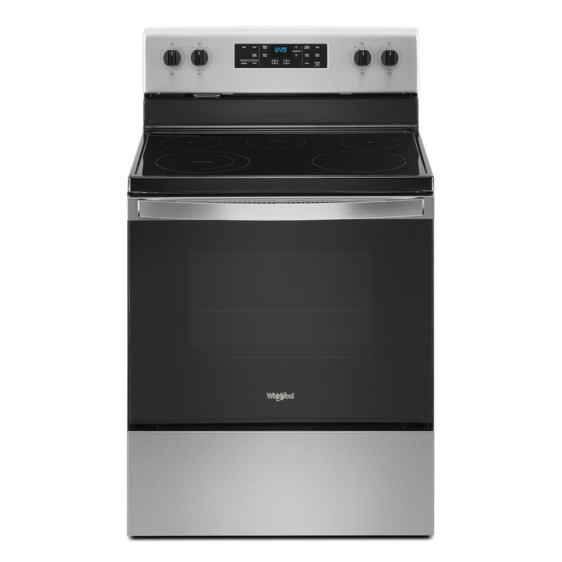 Whirlpool Fingerprint Resistant Stainless Steel Finish Freestanding Electric Range (5.3 cu.ft.) - YWFE505W0JZ