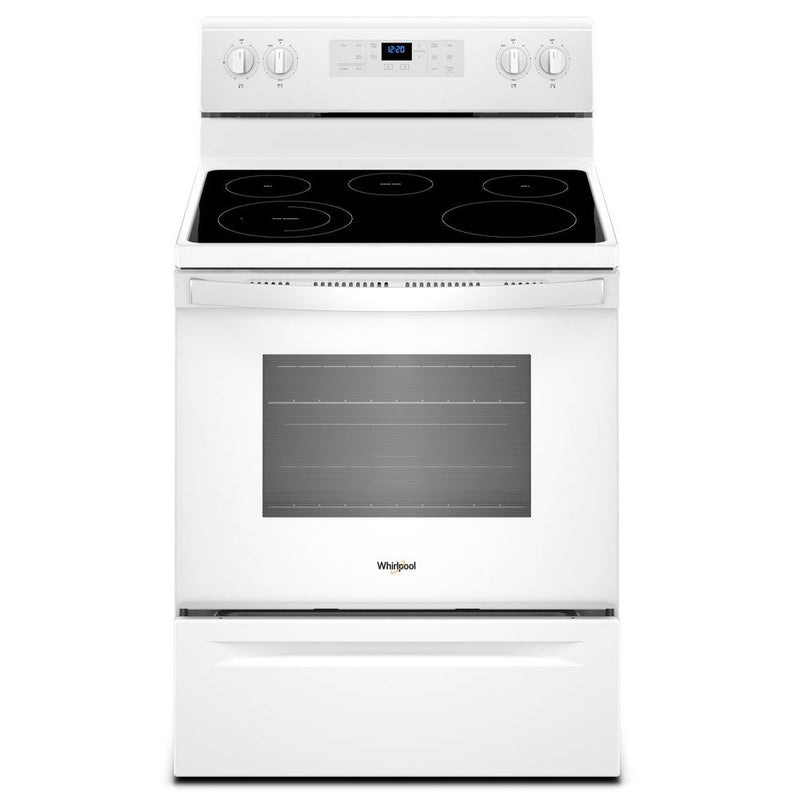 Whirlpool White Freestanding Electric Range (5.3 Cu. Ft.) - YWFE505W0JW