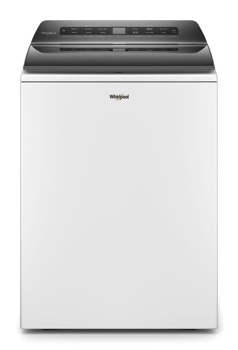 Whirlpool White Top Load Washer (5.4 cu.ft.) - WTW5105HW