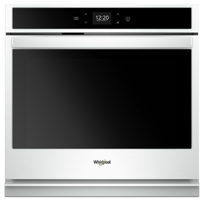 Whirlpool White Smart Electric Single Wall Oven (4.3 Cu. Ft.) - WOS51EC7HW