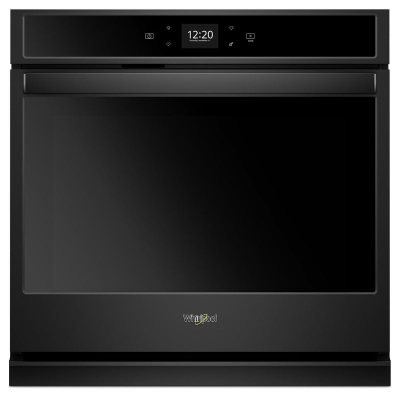 Whirlpool Black Smart Electric Single Wall Oven (4.3 Cu.Ft.) - WOS51EC7HB