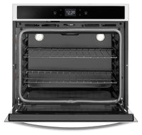 Whirlpool Stainless Steel Smart Electric Single Wall Oven (4.3 Cu. Ft.) - WOS51EC7HS