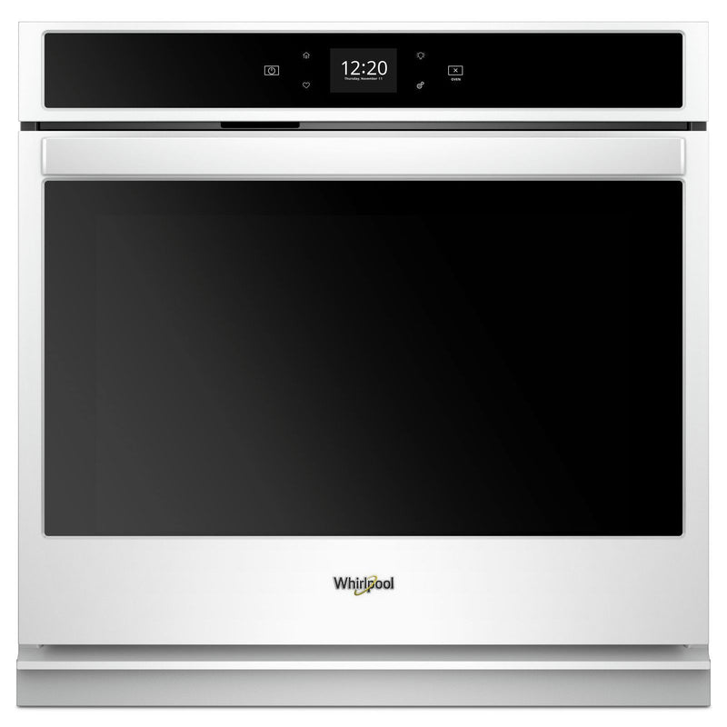 Whirlpool White Smart Electric Single Wall Oven (5.0 Cu.Ft.) - WOS51EC0HW