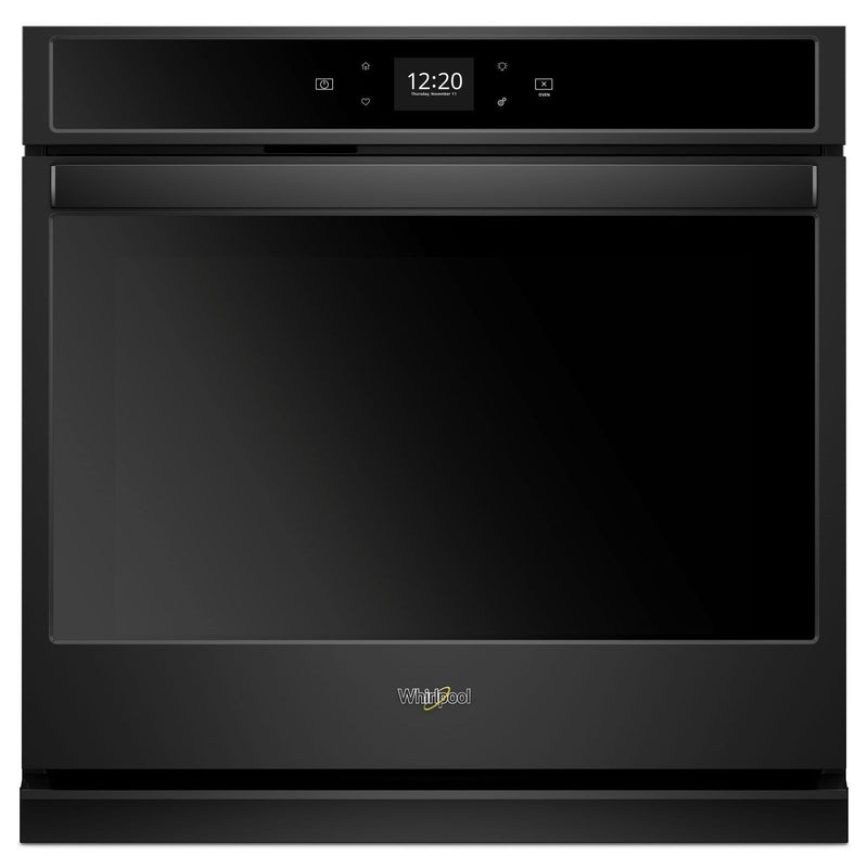Whirlpool Black Smart Electric Single Wall Oven (5.0 Cu. Ft.) - WOS51EC0HB