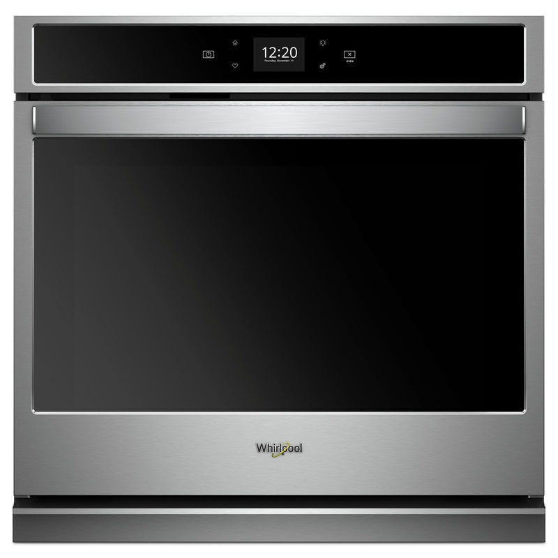 Whirlpool Stainless Steel Smart Electric Single Wall Oven (5.0 Cu. Ft.) - WOS51EC0HS