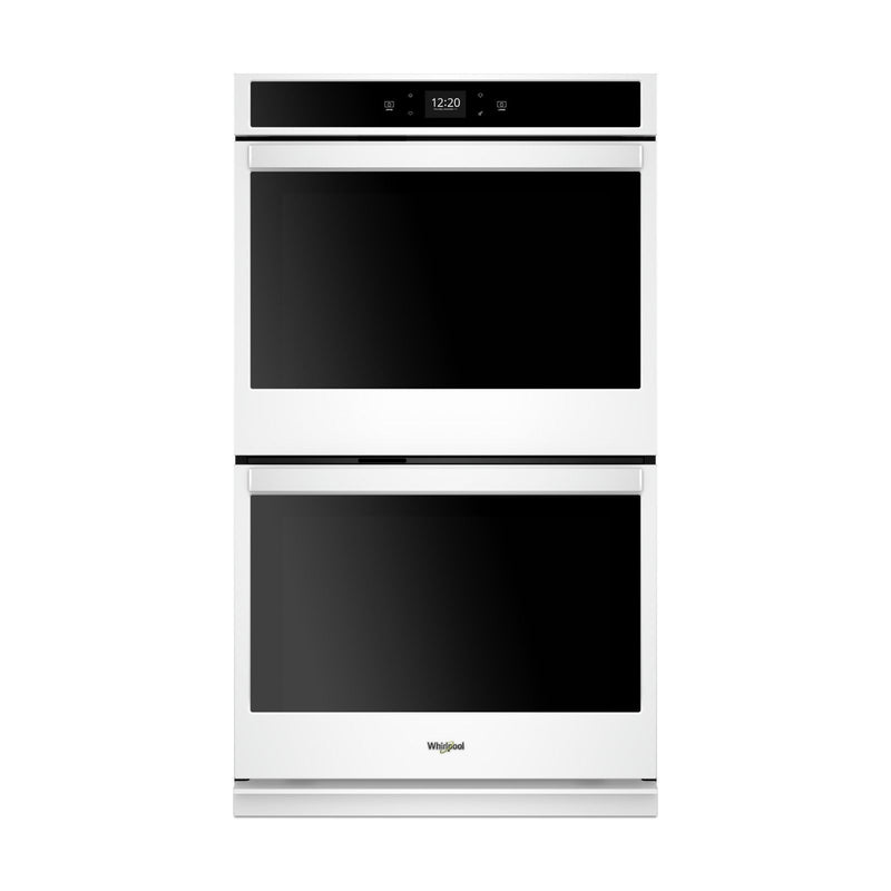 Whirlpool White Smart Electric Double Wall Oven (8.6 Cu.Ft.) - WOD51EC7HW