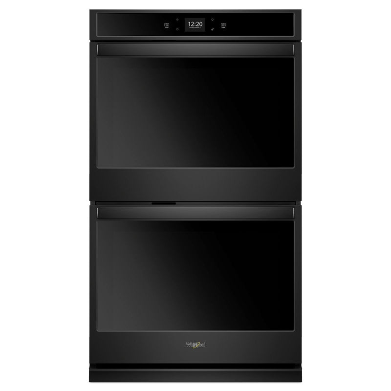 Whirlpool Black Smart Electric Double Wall Oven (8.6 Cu.Ft.) - WOD51EC7HB