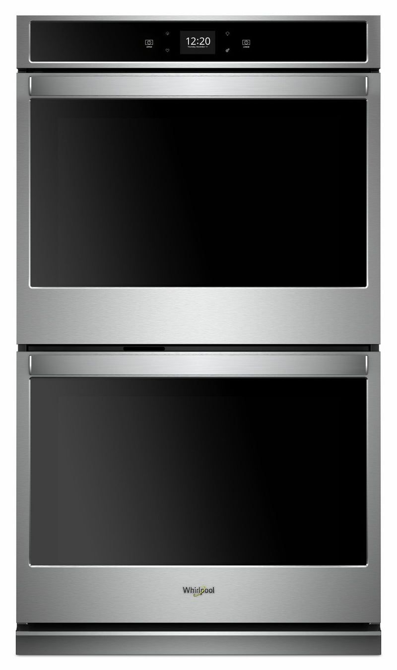 Whirlpool Stainless Steel Smart Electric Double Wall Oven (8.6 Cu.Ft.) - WOD51EC7HS