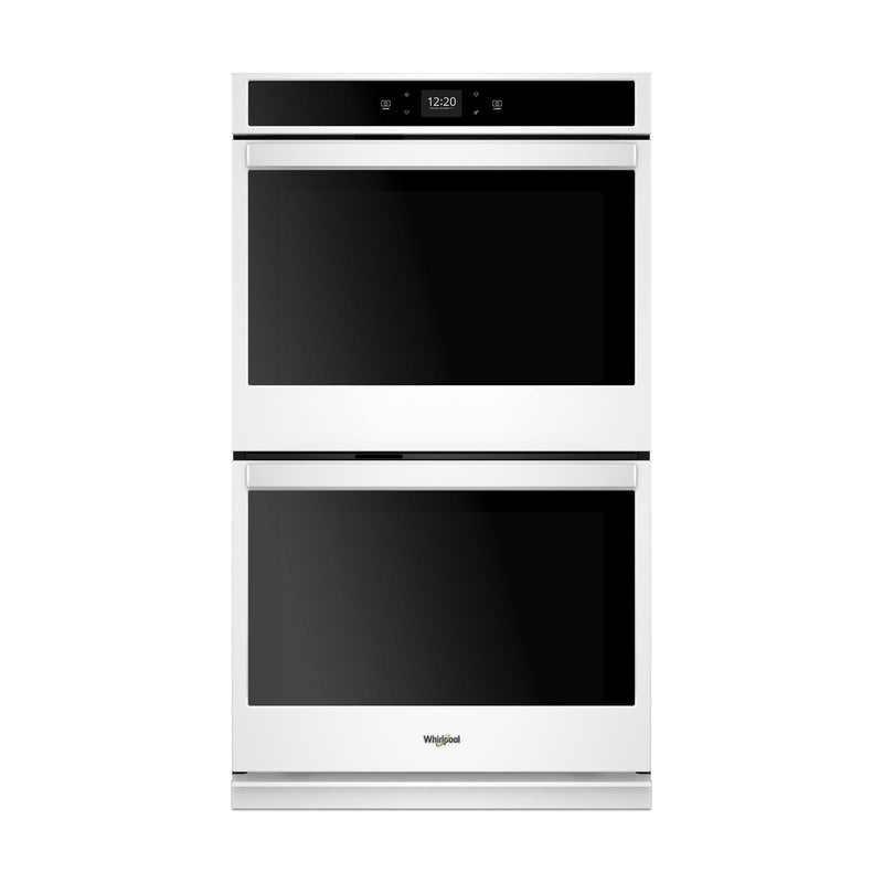 Whirlpool White Smart Electric Double Wall Oven (10.0 Cu. Ft.) - WOD51EC0HW