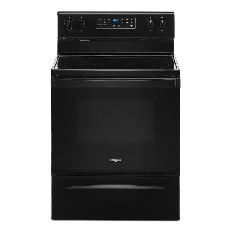 Whirlpool Black Freestanding Electric Range (5.3 Cu. Ft.) - YWFE515S0JB