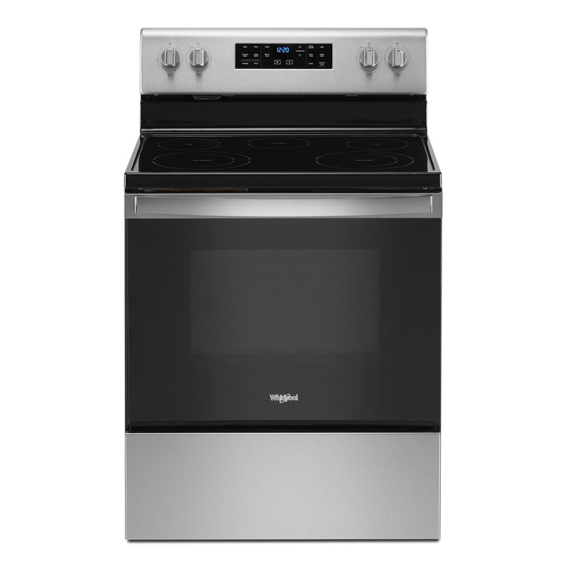 Whirlpool Fingerprint Resistant Stainless Steel Freestanding Electric Range (5.3 Cu. Ft.) - YWFE535S0JZ