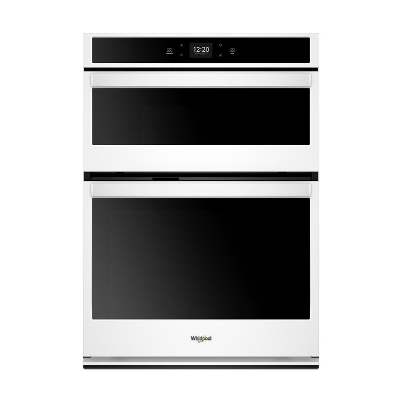 Whirlpool White Smart Wall Oven (4.3 Cu.Ft.)  w/Microwave (1.4 Cu.Ft.) - WOC54EC7HW