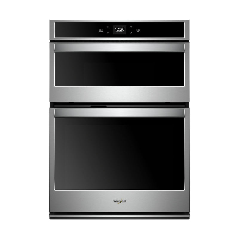 Whirlpool Stainless Steel Smart Electric Wall Oven (4.3 Cu.Ft.) w/Microwave (1.4 Cu.Ft.) - WOC54EC7HS