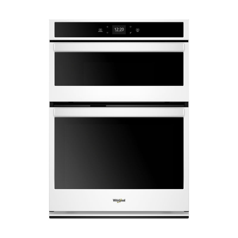Whirlpool White Smart Electric Wall Oven (5.0 Cu.Ft.) w/Microwave (1.4 Cu. Ft.) - WOC54EC0HW