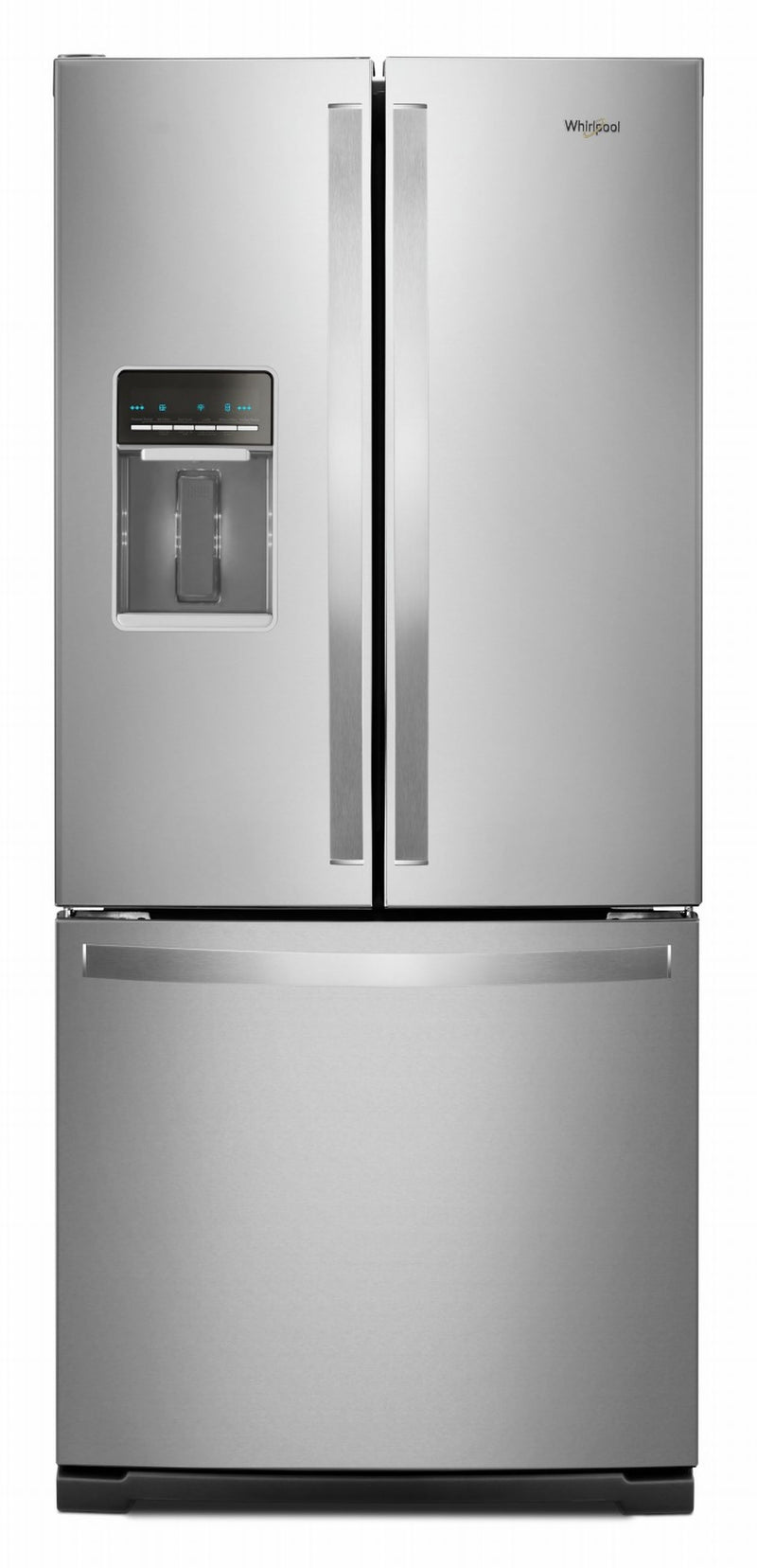 Whirlpool Fingerprint Resistant Stainless Steel Finish French Door Refrigerator (20 Cu. Ft.) - WRF560SEHZ