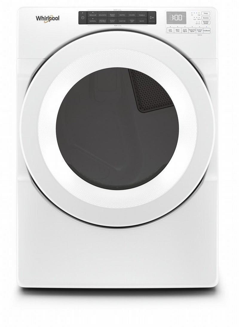 Whirlpool White Gas Dryer (7.4 Cu.Ft.) - WGD5620HW