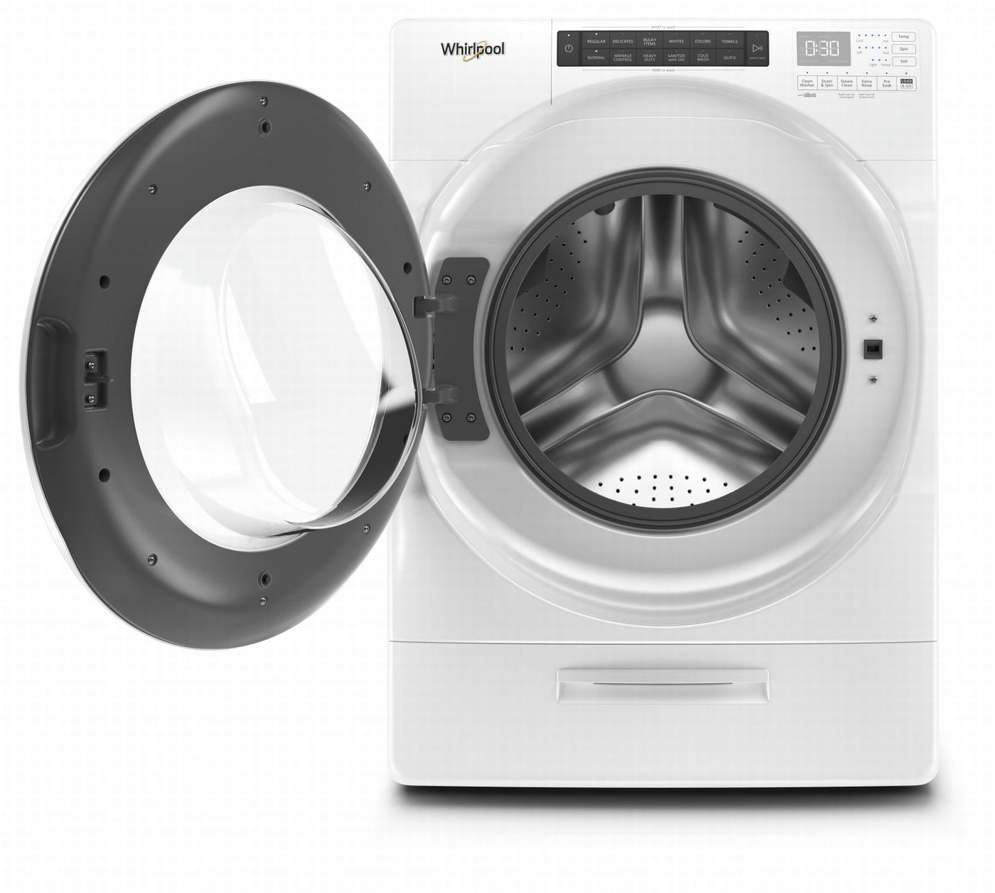 Whirlpool Laveuse 224 Chargement Frontal 5 2 Pi 179 Blanc