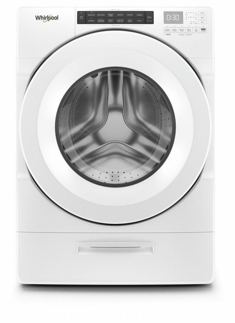 Whirlpool White Front Load Washer (5.2 Cu. Ft.) - WFW5620HW