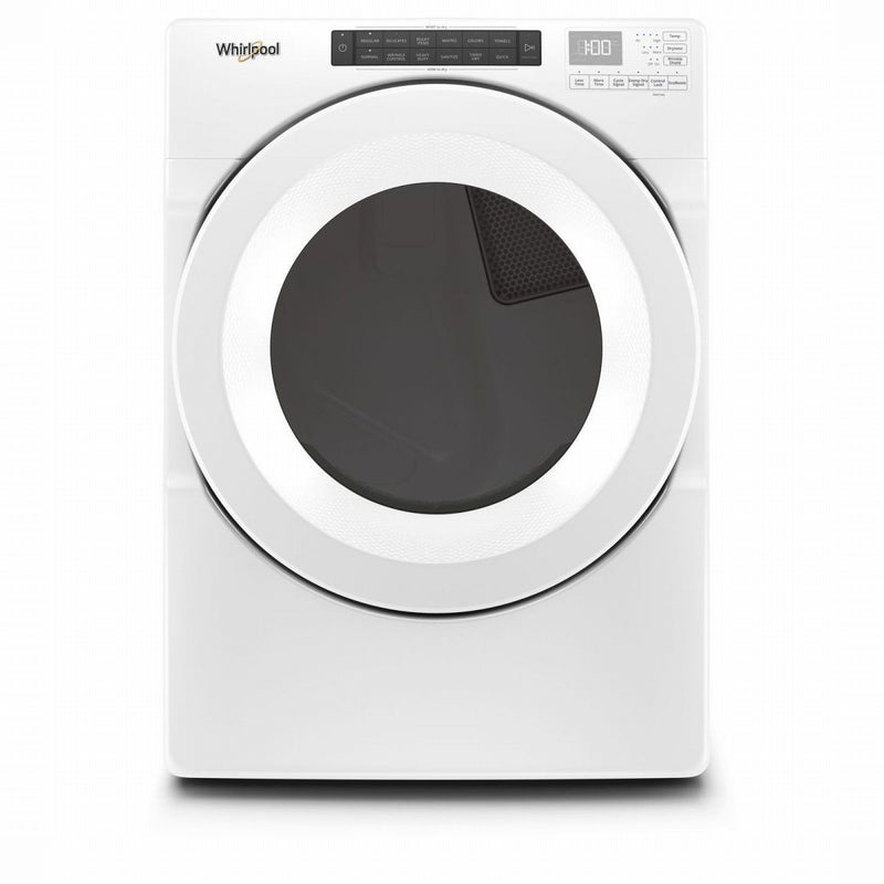 Whirlpool White Gas Dryer (7.4 Cu.Ft.) - WGD560LHW