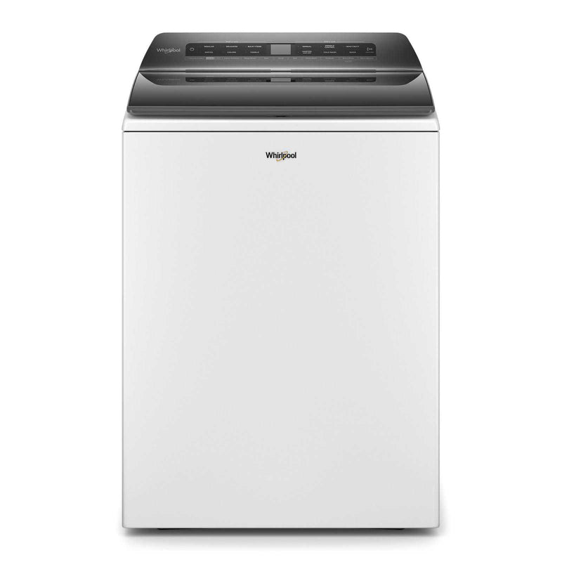 Whirlpool White Smart Top Load Washer (5.5 cu.ft.) - WTW6120HW