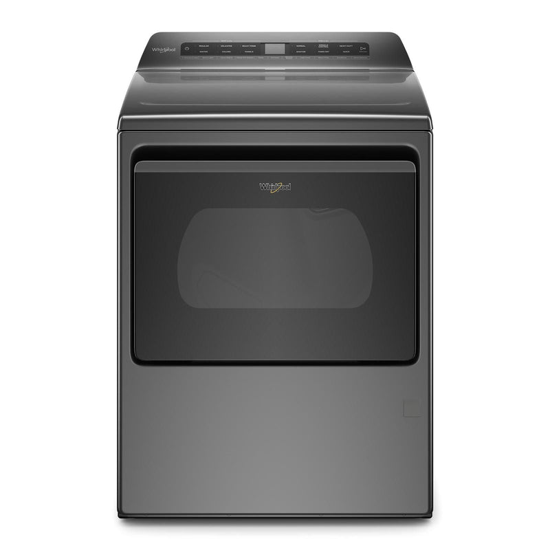 Whirlpool Chrome Shadow Smart Gas Dryer (7.4 Cu.Ft.) - WGD6120HC